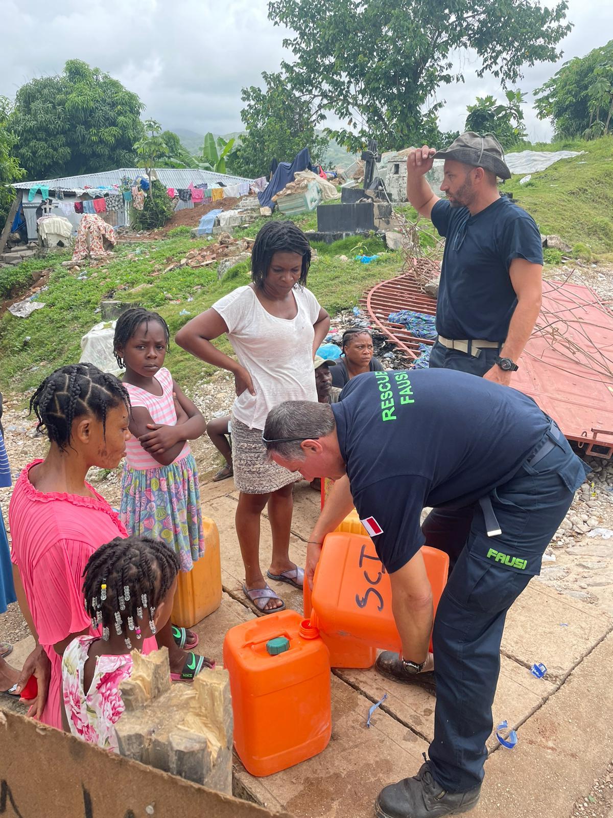 Soutien à la population, Haïti août 2021